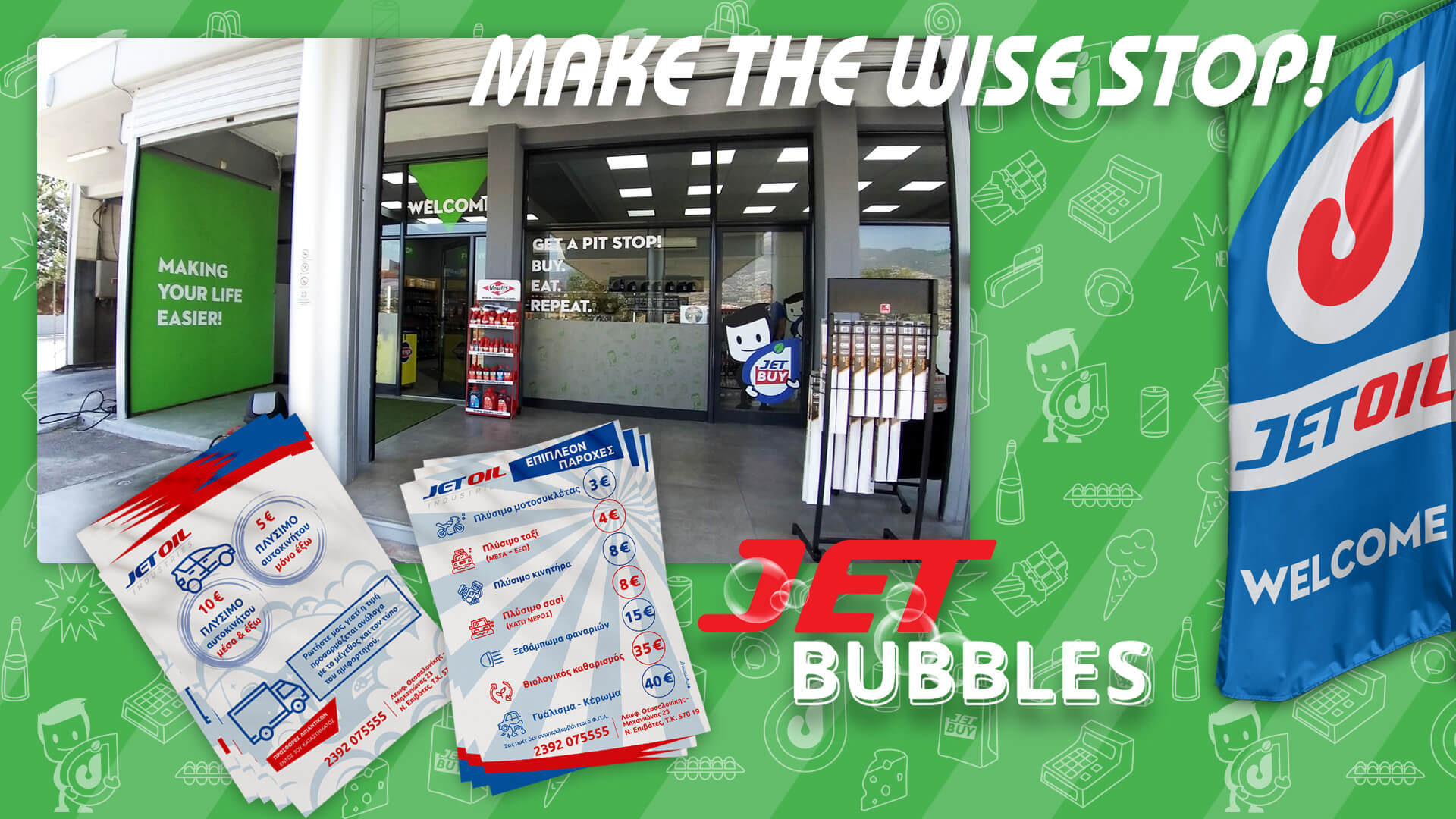 Jetoil Car Wash Bubbles