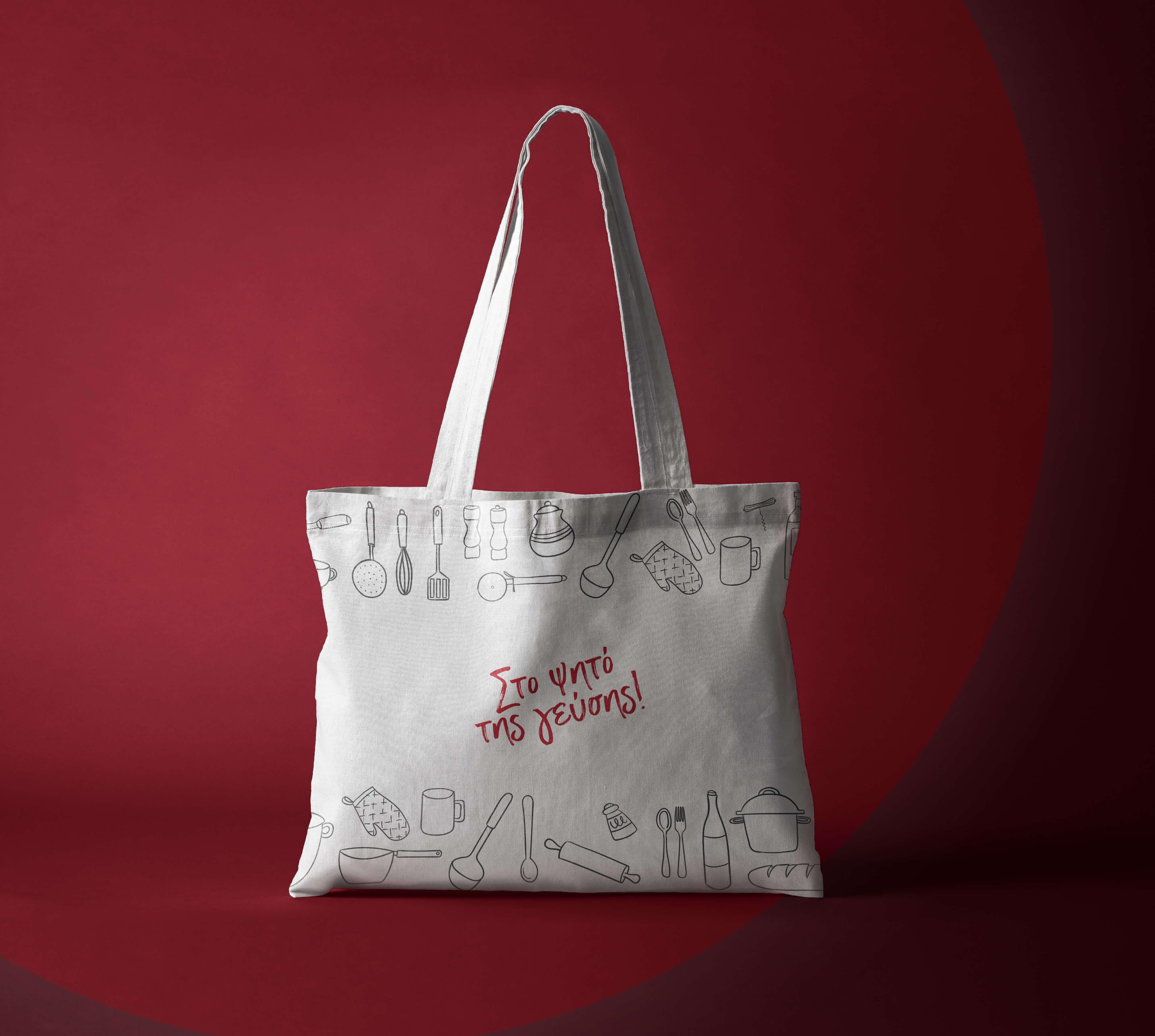 Tote Bag Fabric Mockup Vol4