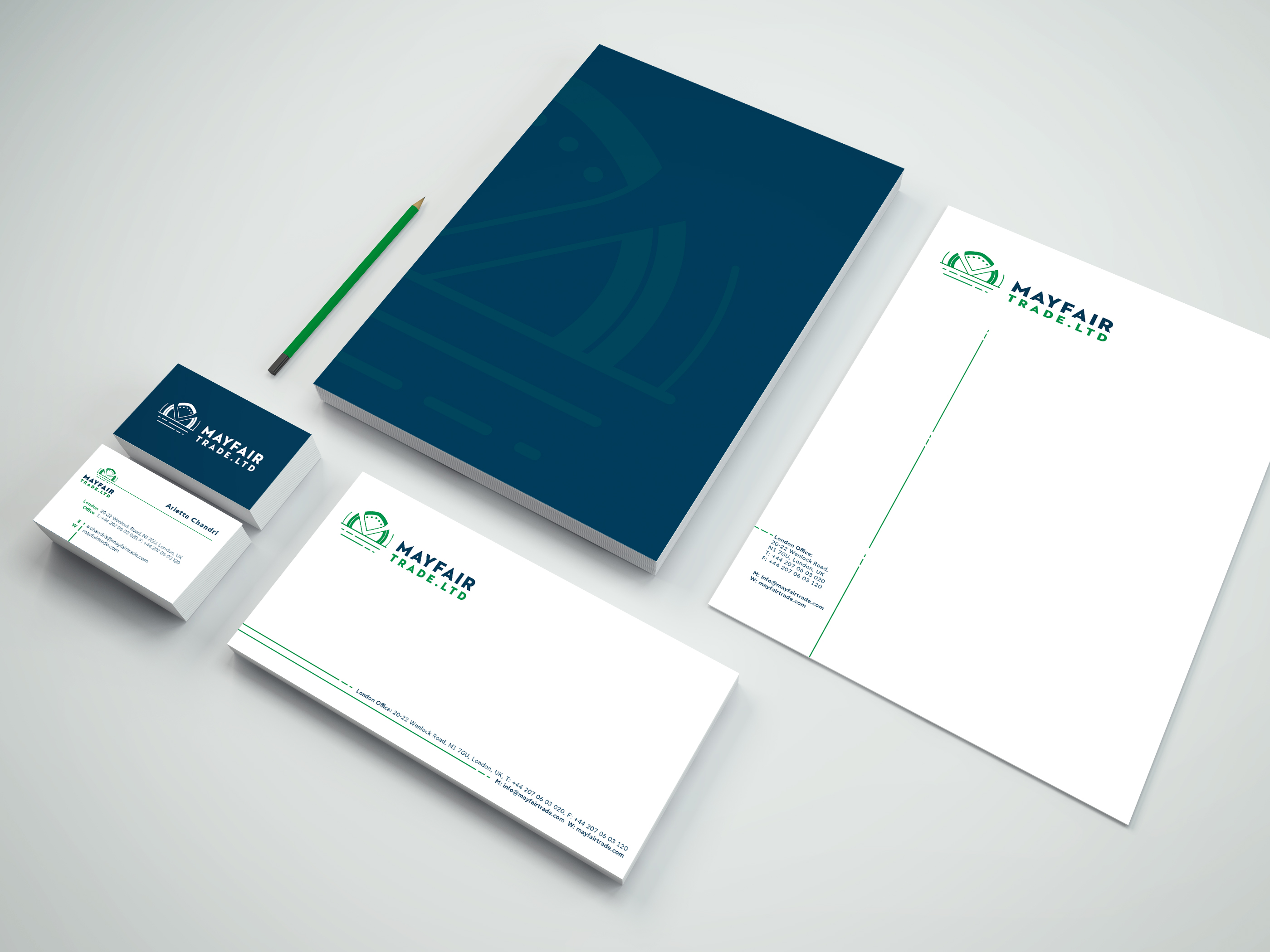 Mayfair Stationary Mockup Old